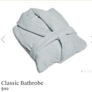 NWT Parachute Classic Robe - Mineral